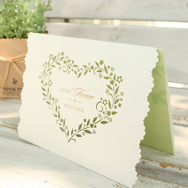 50Pcs-Pack-font-b-Design-b-font-Laser-Cut-Green-font-b-Love-b-font-Pattern